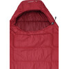 VAUDE Sioux 400 Syn Sleeping Bag dark indian red